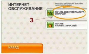 Распечатка логина и пароля через терминал от Сбербанка Онлайн